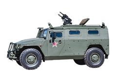 Armored Car Tiger isolated Stock Photo