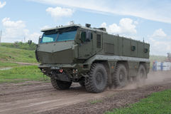 Armored car Typhoon-K. Rostov-on-Don, Russia, June 4, 2016 stock image