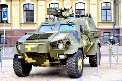 Armored car Stock Images