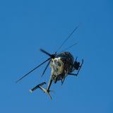 Armored Combat Helicopter Royalty Free Stock Photos