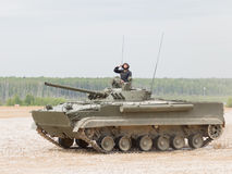 Armored combat tracked vehicle BMP-3, Russia Royalty Free Stock Image