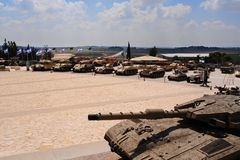 Armored Corps Museum Royalty Free Stock Photos