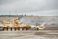 Armored deminer BMR-3M (Russia) Royalty Free Stock Photos