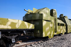 armored drev Arkivfoton