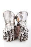 armored handskepar Royaltyfri Bild