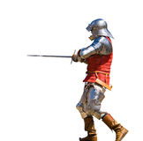 Armored knight Stock Photos