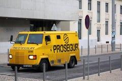 armored lastbil Fotografering för Bildbyråer
