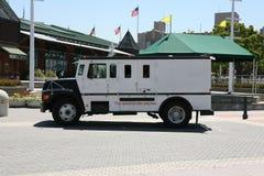 armored lastbil Arkivfoton
