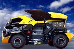 armored medel Royaltyfria Bilder