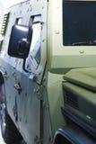 armored medel Arkivfoton