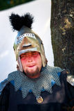Armored Medieval Knight Royalty Free Stock Photography