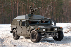 Armored military vehicle HMMWV Royalty Free Stock Photography