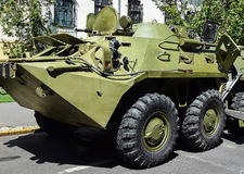 Armored military vehicle Stock Photos