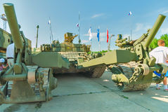 Armored mine-clearing vehicle BMR-3M. Russia Royalty Free Stock Photos