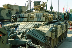 Armored mine-clearing vehicle BMR-3M. Russia Stock Photography