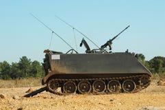armored personaler för bärare m113 Arkivfoton