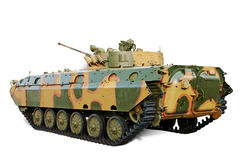 Armored Personnel Carrier. Former USSR Armored Personnel Carriers used in many country isolated over white. Clipping path included royalty free stock photo