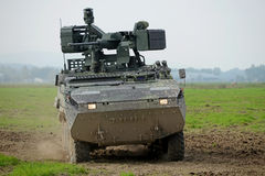 Armored personnel carrier Royalty Free Stock Photography