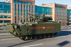 Armored personnel carrier BTR kurganets-25 Stock Images