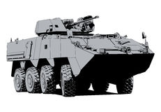 Armored personnel carrier Stock Photography