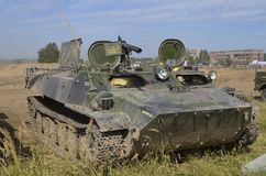 Armored personnel carrier at the International Gathering of Military Vehicles in Borne Sulinowo, Poland Stock Photos