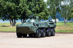 Armored personnel carrier Royalty Free Stock Image