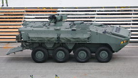 Armored personnel carrier Terrex at NDP 2011 Stock Photography