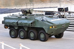 Armored personnel carrier Terrex at NDP 2011 Stock Images