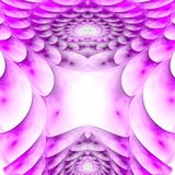 Armored protective shell. Plasma field. 3D surreal illustration. Sacred geometry. Mysterious psychedelic relaxation pattern. Fractal abstract texture. Digital Stock Images