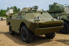 Armored reconnaissance patrol vehicle BRDM-2 Royalty Free Stock Photo