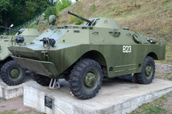 Armored reconnaissance and patrol vehicle. Period of the Soviet era Stock Images