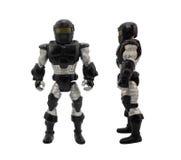 armored soldat Arkivfoton