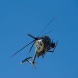 armored stridhelikopter Royaltyfria Foton
