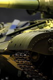 Armored tank close to Stock Photography