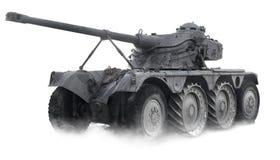 Armored tanka Arkivfoto