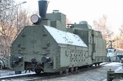 Armored train Royalty Free Stock Images