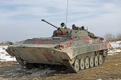 Armored transport carrier BMP-2 Stock Photography