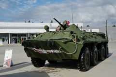 Armored troop-carrier Royalty Free Stock Photos