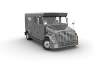 Armored truck vector illustration