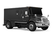 Armored Truck Isolated. On white background. 3D render Stock Photography