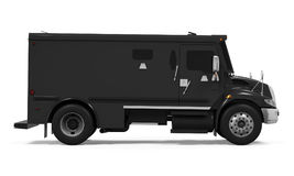 Armored Truck Isolated. On white background. 3D render Stock Photo