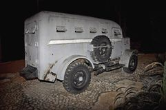 Armored  vehicle from the 1940's Royalty Free Stock Photos