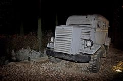 Armored vehicle from the 1940's Stock Image