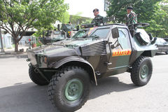 Armored vehicle Stock Photography