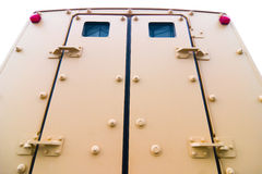 Armored vehicle doors Royalty Free Stock Photo
