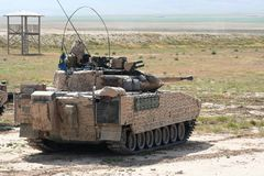 Armored vehicles in Afghanistan Royalty Free Stock Photo