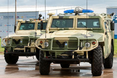 Armored vehicles Stock Photos