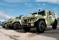 Armored vehicles Royalty Free Stock Image