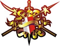 Armorial bearings Stock Image