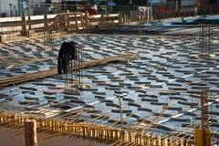 Armoring no terreno de construção foto de stock royalty free